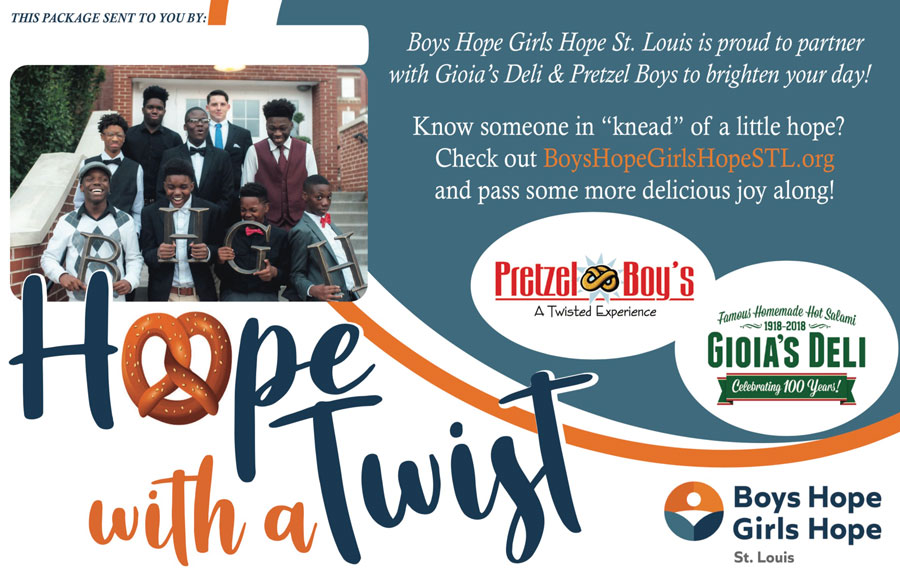 Hope With A Twist - Boys Hope Girls Hope